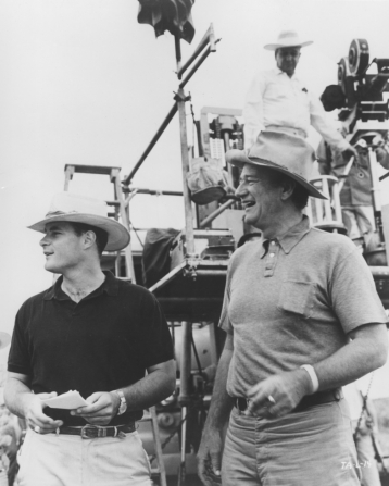 John Wayne, Michael Wayne