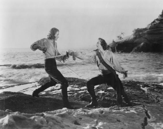 Errol Flynn, Basil Rathbone