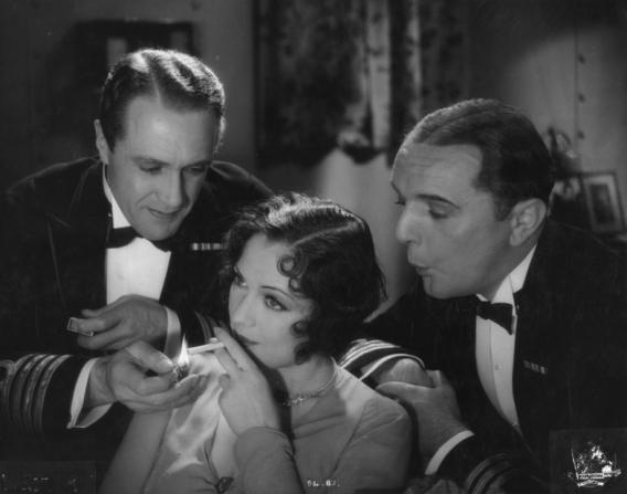 Jack Raine, Jacqueline Logan, Owen Nares
