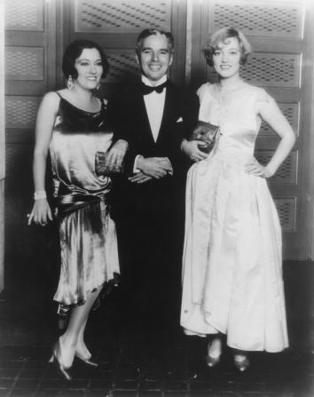 Charles Chaplin, Gloria Swanson, Marion Davies