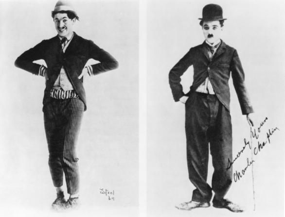 Charles Chaplin, Harold Lloyd
