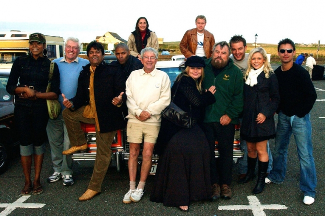 Peter Purves, John Noakes, Brian Blessed, Philippa Forrester
