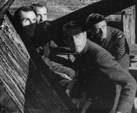 Bernard Miles, Eric Portman, Hugh Burden, Emrys Jones