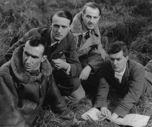 Bernard Miles, Hugh Burden, Eric Portman, Hugh Williams