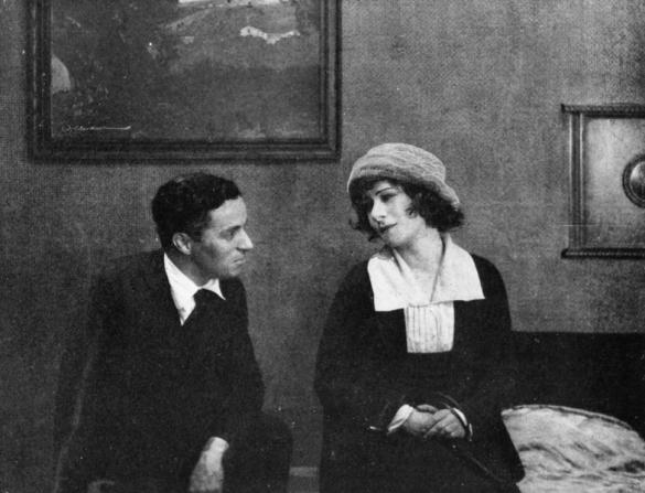 Charles Chaplin, Alla Nazimova