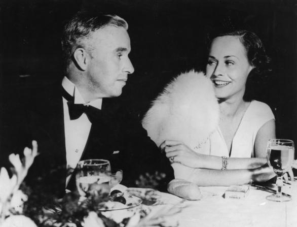 Charles Chaplin, Paulette Goddard