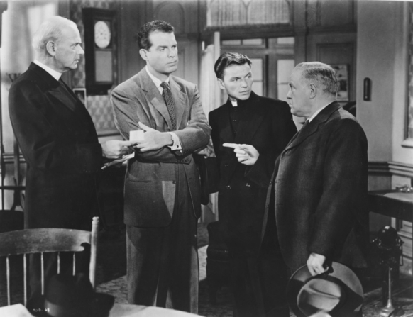 Fred MacMurray, Frank Sinatra, Harold Vermilyea