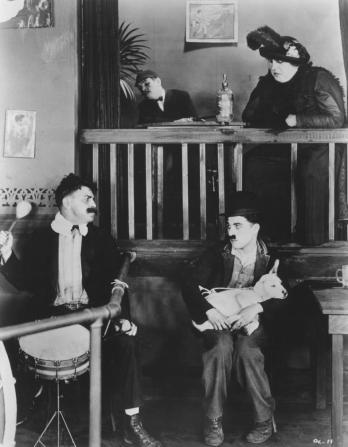 Charles Chaplin, Charles F. Riesner, Henry Bergman