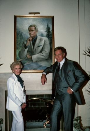 Olga Lehmann, Charlton Heston