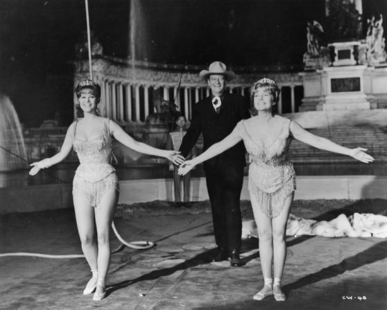 Claudia Cardinale, John Wayne, Rita Hayworth