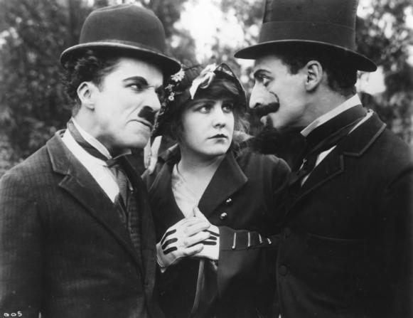 Charles Chaplin, Edna Purviance, Leo White