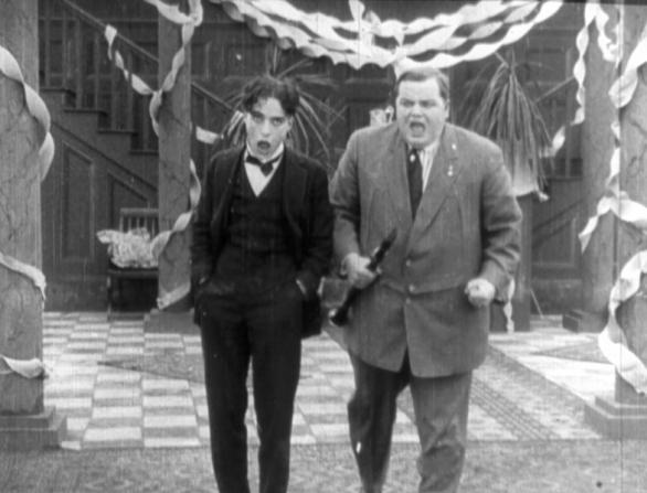 Charles Chaplin, Roscoe Arbuckle