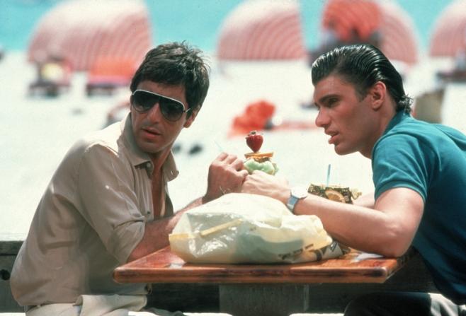 Al Pacino, Steven Bauer