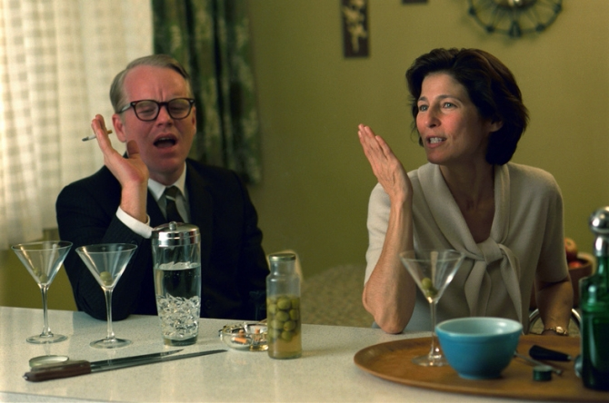 Philip Seymour Hoffman, Catherine Keener