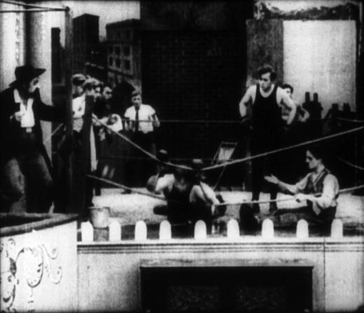 Mack Swain, Roscoe Arbuckle, Edgar Kennedy, Charles Chaplin