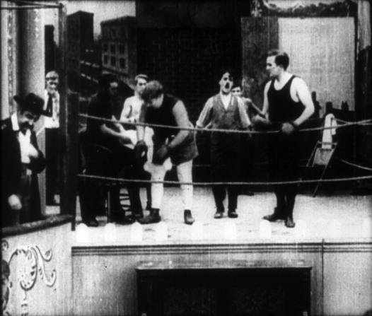 Mack Swain, Roscoe Arbuckle, Charles Chaplin, Edgar Kennedy