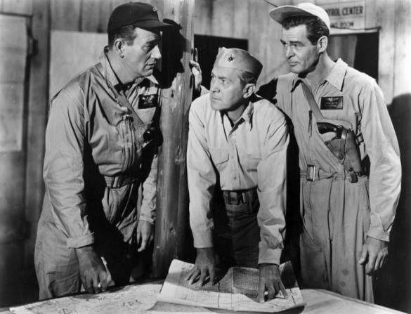 John Wayne, Robert Ryan, Adam Williams