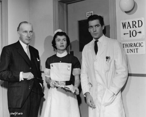 Wilfrid Hyde White, Dorothy Alison, Michael Craig
