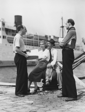 Herbert Mason, Lilli Palmer, John Mills