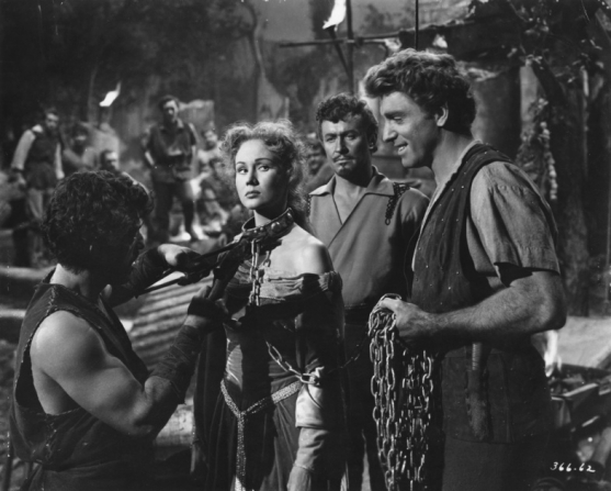 Virginia Mayo, Robert Douglas, Burt Lancaster