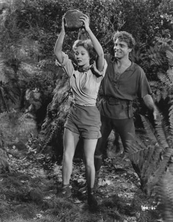 Virginia Mayo, Burt Lancaster