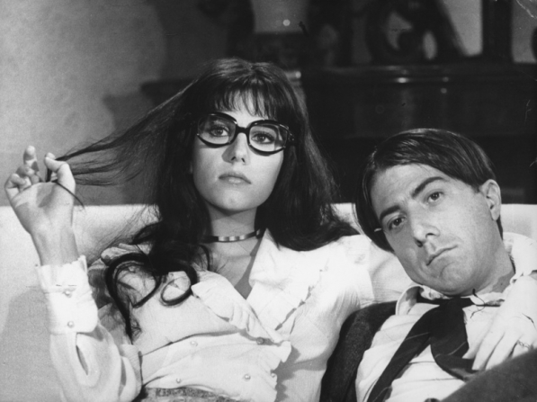 Stefania Sandrelli, Dustin Hoffman