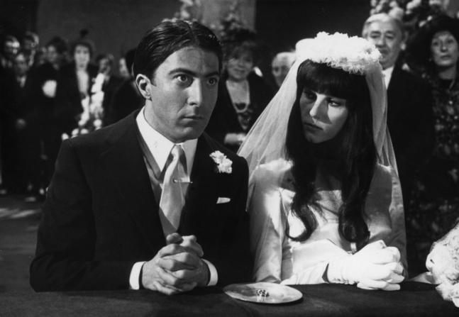 Dustin Hoffman, Stefania Sandrelli