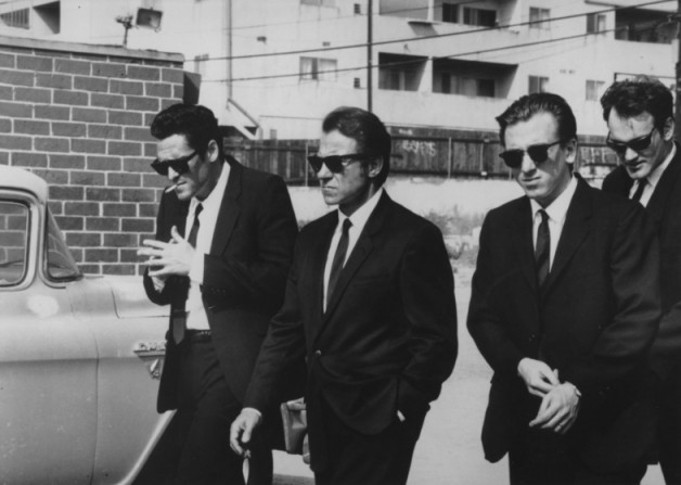 Michael Madsen, Harvey Keitel, Tim Roth, Quentin Tarantino