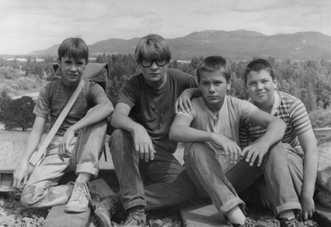 Wil Wheaton, Corey Feldman, River Phoenix, Jerry O'Connell