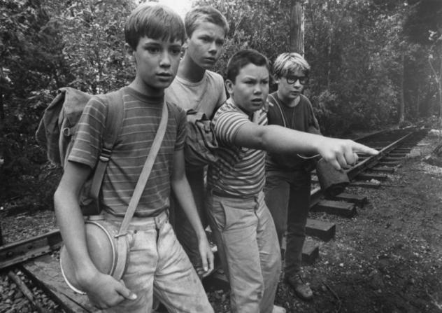 Wil Wheaton, River Phoenix, Jerry O'Connell, Corey Feldman