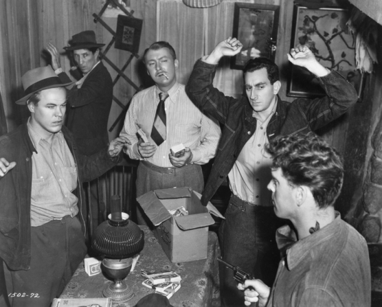 Albert Dekker, Burt Lancaster