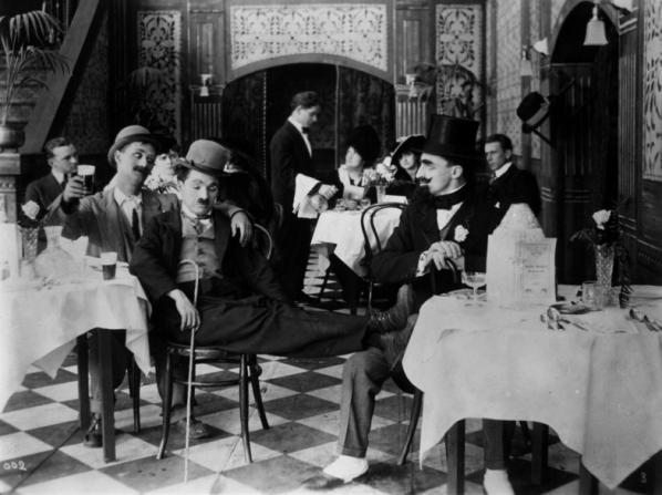 Ben Turpin, Charles Chaplin, Leo White