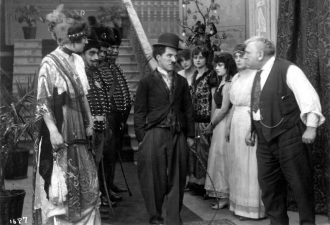 Charlotte Mineau, Charles Chaplin, Charles Inslee