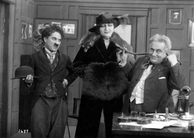 Charles Chaplin, Charlotte Mineau