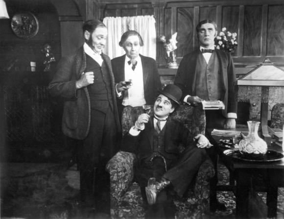 Fred Goodwins, Paddy Mcguire, Charles Chaplin, Lloyd Bacon