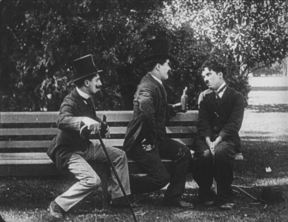 Billy Armstrong, Leo White, Charles Chaplin