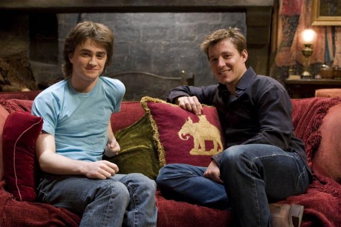 Ben Shephard, Daniel Radcliffe