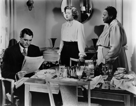 Cary Grant, Myrna Loy, Louise Beavers