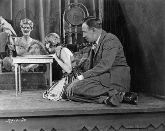 John Gilbert, Renée Adorée, Tod Browning