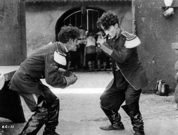 Leo White, Charles Chaplin