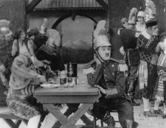 John Rand, Charles Chaplin