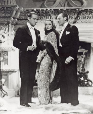 Marlene Dietrich, Herbert Marshall, Melvyn Douglas