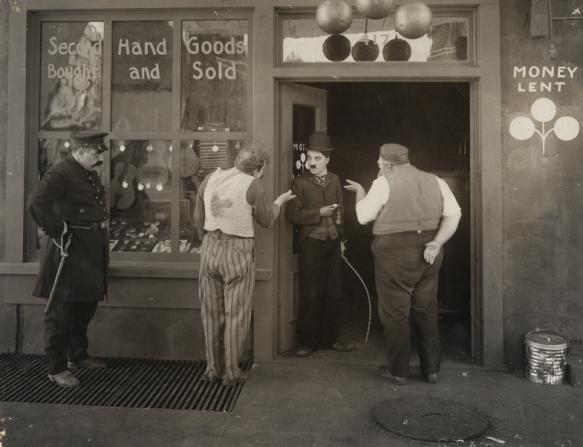 John Rand, Charles Chaplin, Henry Bergman