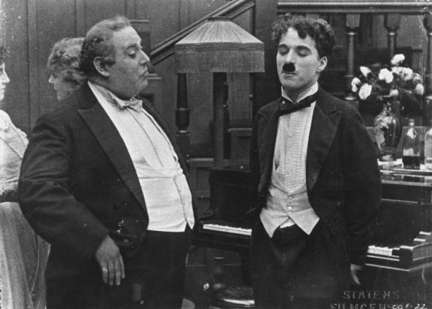 Henry Bergman, Charles Chaplin