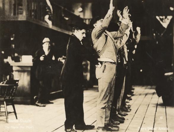 Charles Chaplin, Charles F. Riesner