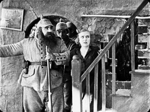 Henry Bergman, Edna Purviance