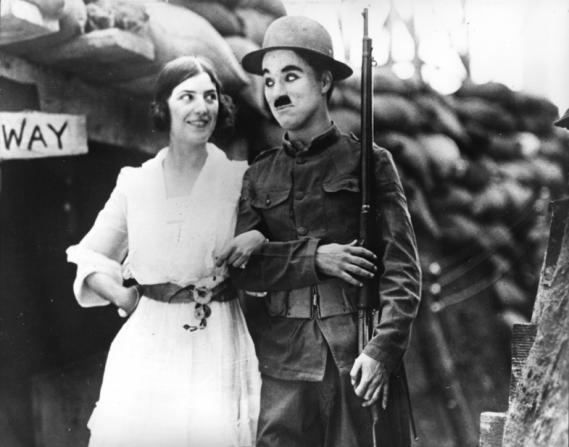 Ina Claire, Charles Chaplin