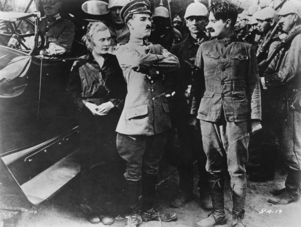 Edna Purviance, Charles Chaplin, Sydney Chaplin
