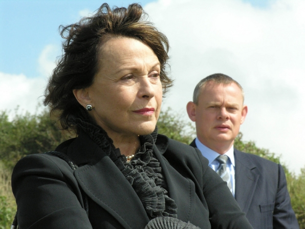 Martin Clunes, Claire Bloom