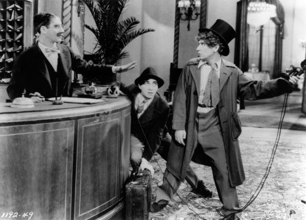 Groucho Marx, Chico Marx, Harpo Marx